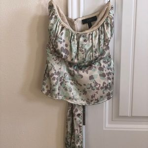 Jessica Simpson strapless blouse